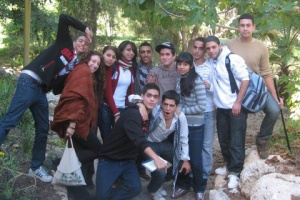 Arab and Isreaeli youth working together for peace